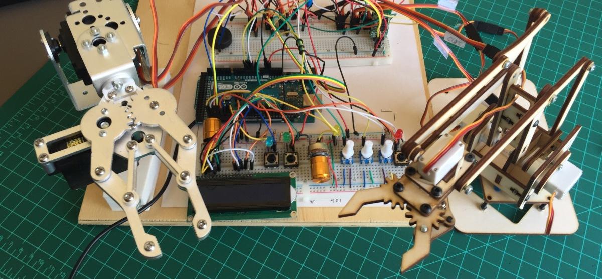 O braço robótico: Desenvolvimento doProjeto