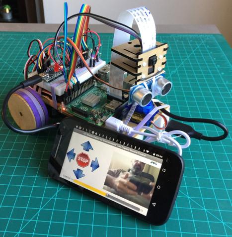 """O """"Mars Rover"""" tupiniquim – Protótipo de uma estação móvel para captura de dadosambientais"""