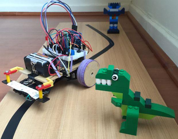 """""""Rex"""", um robô que nunca perde alinha!"""