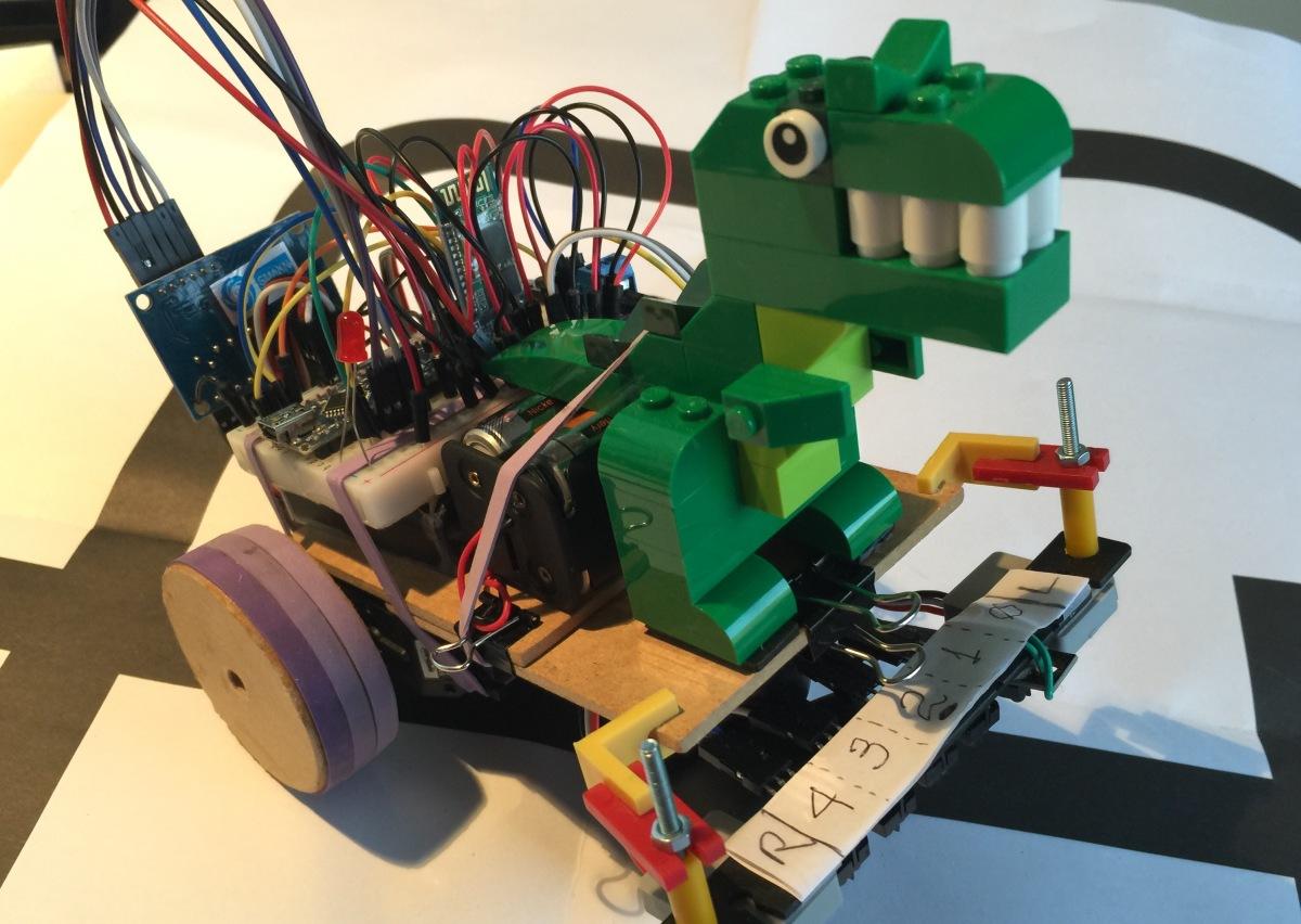 Robô explorador de labirintos, utilizando Inteligência Artificial comArduino