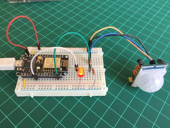 IoT: Sensor de movimento com o NodeMCU eBLYNK