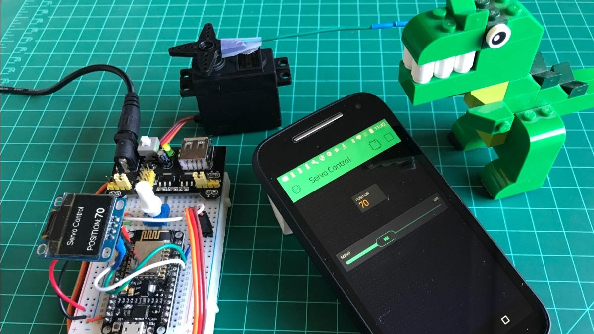 IoT feito simples: Controlando servos com o NodeMCU e oBlynk