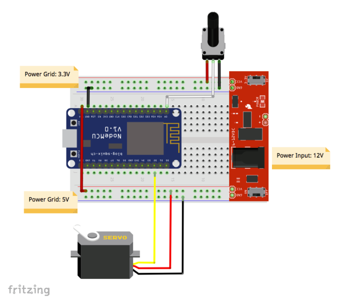 IoT Made Simple: Servo Control With NodeMCU and Blynk «