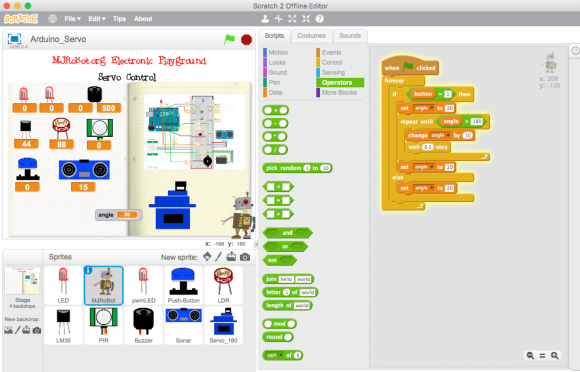 Electronic Playground With Arduino and Scratch 2 «